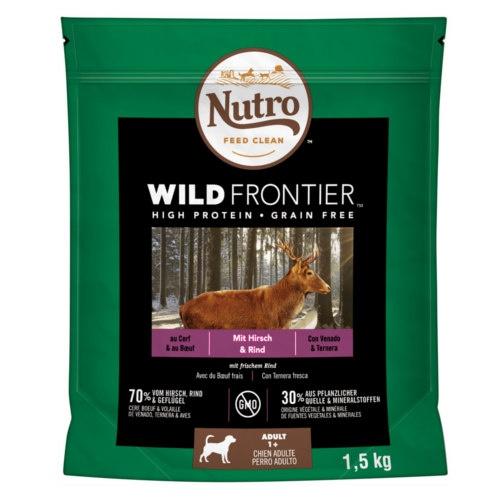 Nutro Wild Frontier Adult Veado e Vitela