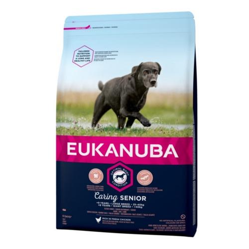 Ração Eukanuba Senior para cães grandes