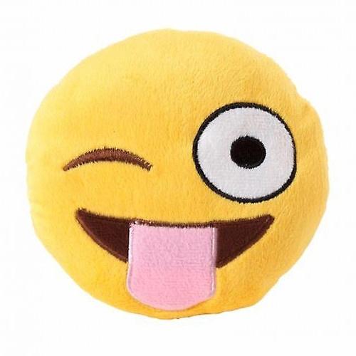 Peluche Emoji Tongue Out para cães