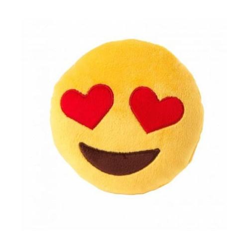 Peluche Emoji Love Eyes para cães