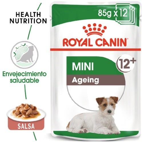 Comida húmida Royal Canin Mini Ageing 12