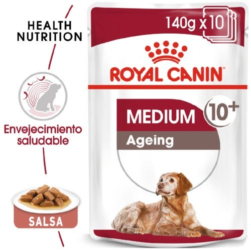 Comida húmida Royal Canin Medium Ageing 10