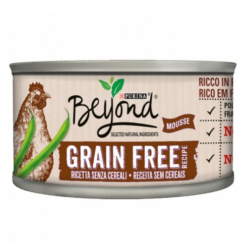 Purina Beyond Grain Free Mousse de Frango