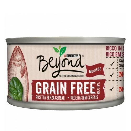 Purina Beyond Grain Free Mousse de Salmão