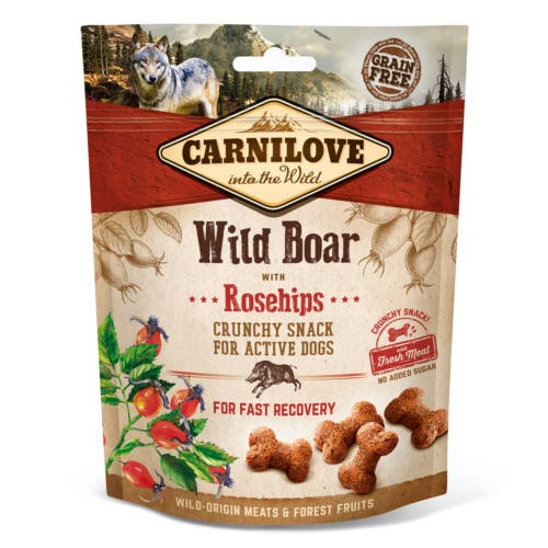 Carnilove Crunchy Snack Javali com cinórrodo