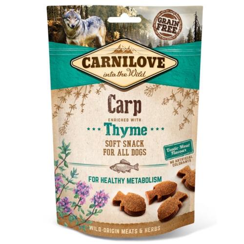 Carnilove Soft Snack Carpa com tomilho