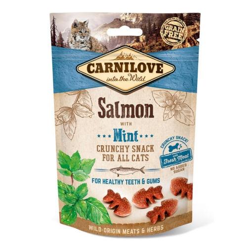 Carnilove Crunchy Snack Salmão com menta