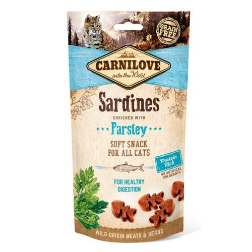 Carnilove Crunchy Snack Sardinha com salsa