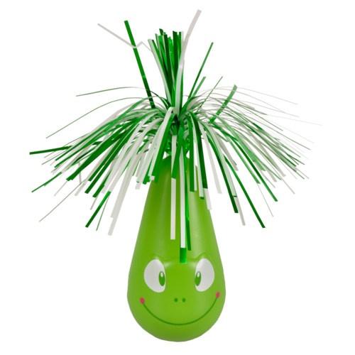 Brinquedo com baloiço Crazy Frog verde