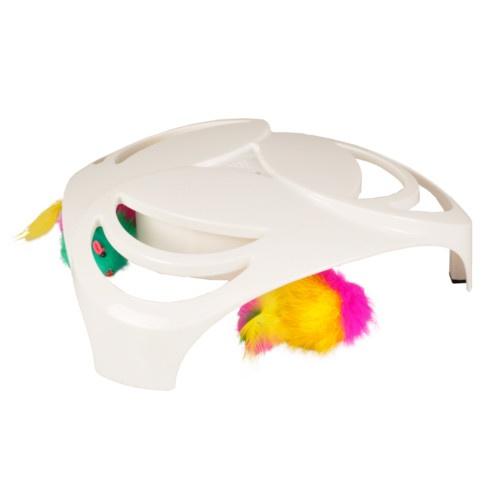 Brinquedo interativo ratos giratórios