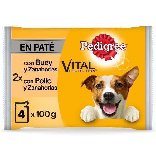 Multipack Pedigree Patê de Frango e Carne de vaca