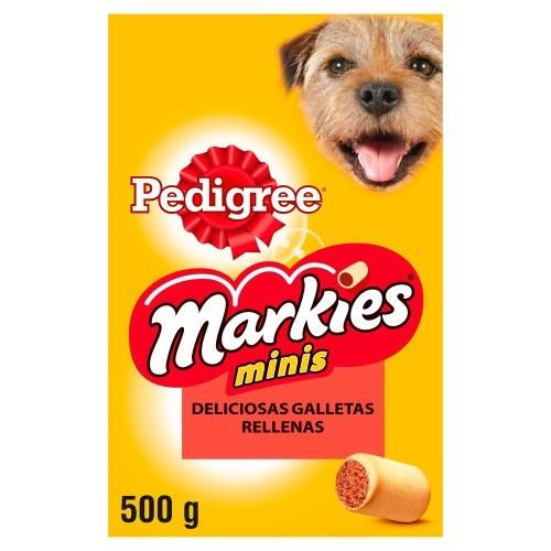 Biscoitos Pedigree Markies Minis recheados com tutano