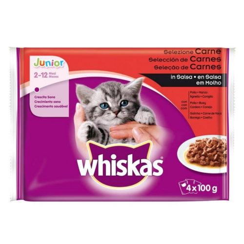 Whiskas Junior Multipack Seleção de carnes