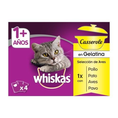 Pack Whiskas Casserole Aves