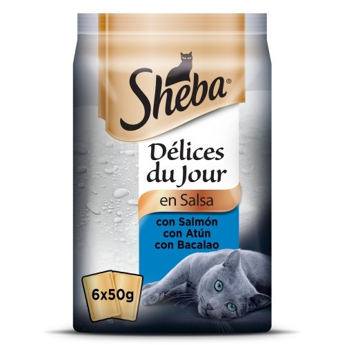 Sheba Delices Du Jour Seleção de peixes