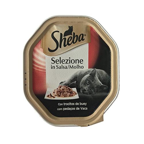 Sheba Selezione Carne de vaca em molho