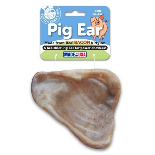 Mordedor orelha de porco sabor bacon