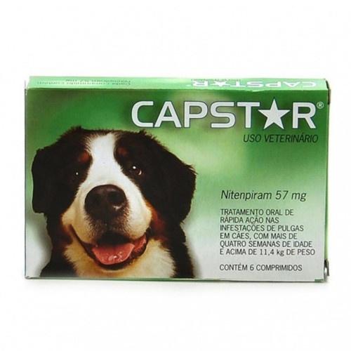 Tratamento Anti-pulgas Capstar para cães grandes