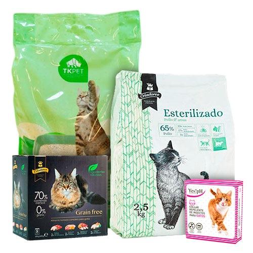 KITanimal para gatos esterilizados