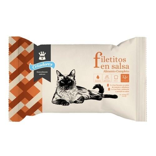 Multipack Criadores Bifinhos em molho para gatos