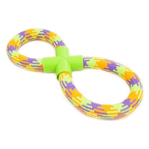 Brinquedo de corda TK-Pet trança oito