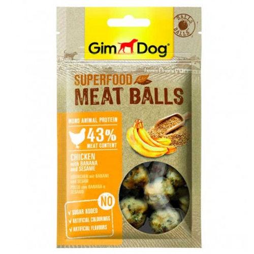 GimDog Balls Frango com banana e gergelim