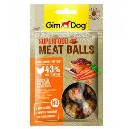 GimDog Balls Frango com cenoura e linhaça