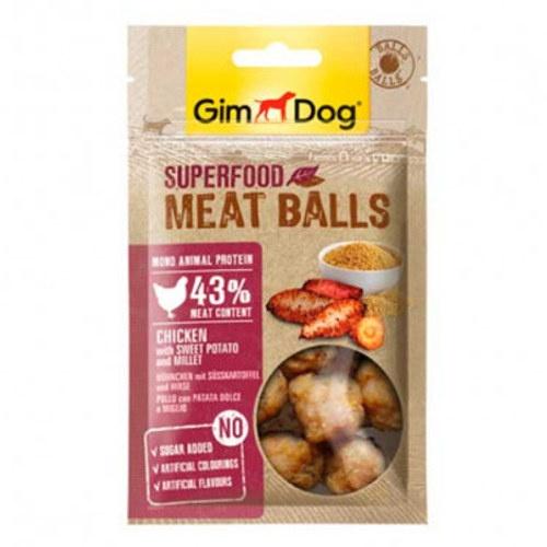 GimDog Balls Frango com batata-doce e milhete