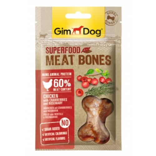 GimDog Bones Frango com mirtilos e alecrim
