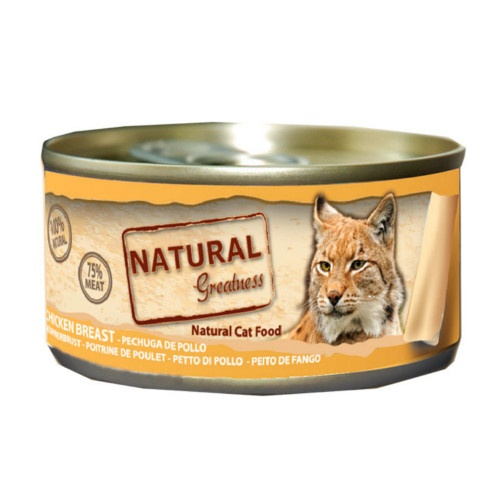Natural Greatness Peito de frango para gatos