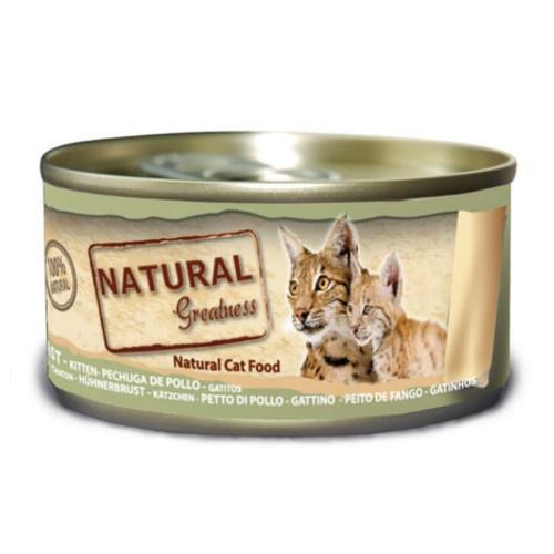 Natural Greatness Frango, fígado e ovo para gatinhos
