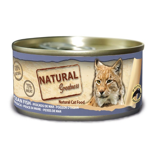 Natural Greatness Peixe de Mar para gatos