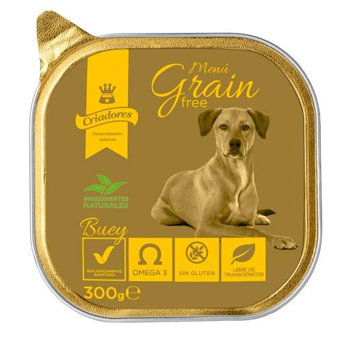 Criadores Menu Grain Free Vaca