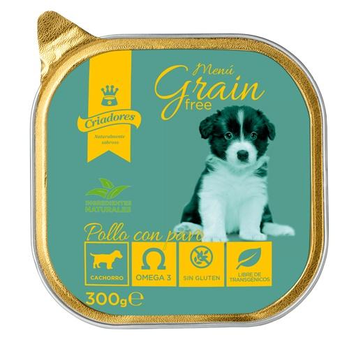 Criadores Menu Grain Free Puppy Frango com peru