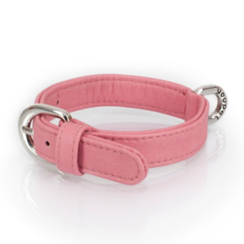 Coleira Paris Basico cor-de-rosa