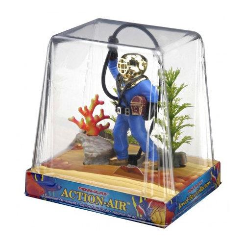 Mergulhador com tubo para aquários