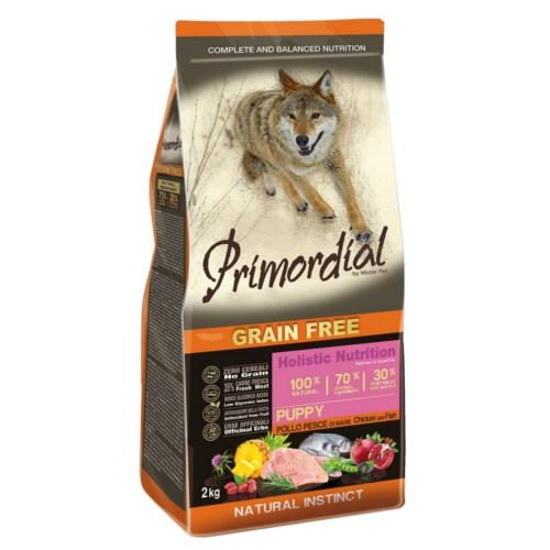 Ração Primordial Puppy Grain Free Frango e Peixe
