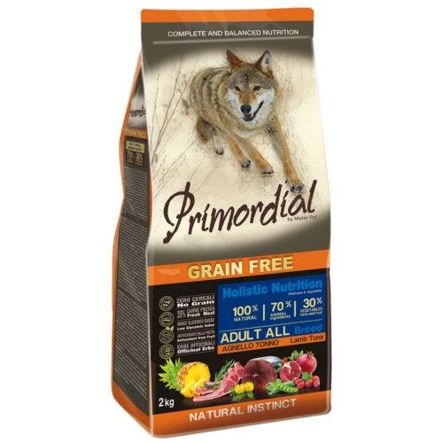 Ração Primordial Grain Free Cordeiro e Atum