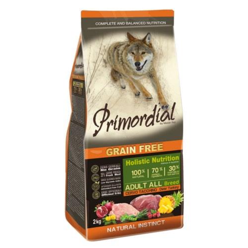 Ração Primordial Grain Free Cervo e Peru