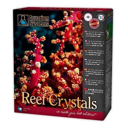 Sal Reef Crystals para aquários marinhos