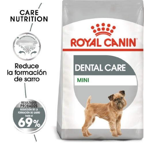 Ração Royal Canin Dental Care Mini para cães