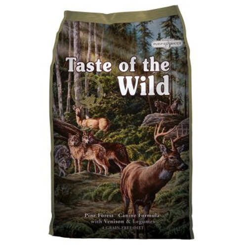 Taste of the Wild Pine Forest com Veado