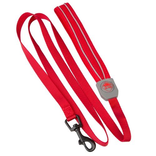 Trela de alta visibilidade TK-Pet Soft vermelha