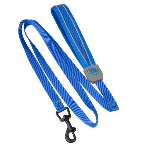 Trela de alta visibilidade TK-Pet Soft azul