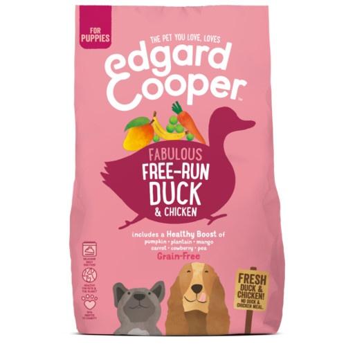Ração Edgard & Cooper Pato e Frango fresco para cachorros