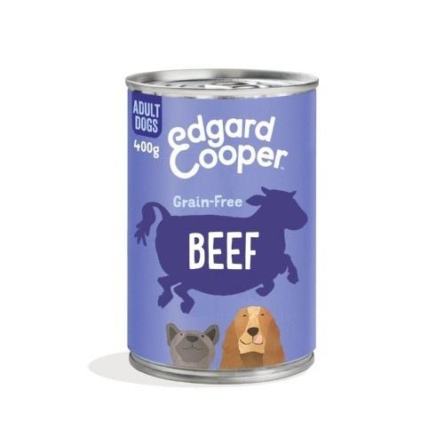 Lata Edgard & Cooper Bovino para cães