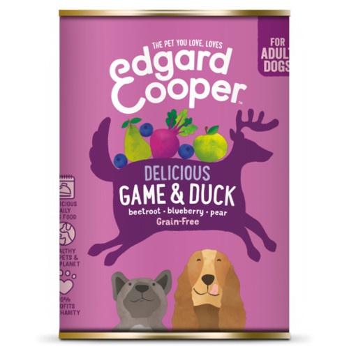 Lata Edgard & Cooper Veado e Pato para cães