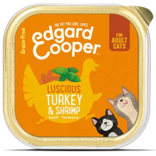 Terrina Edgard & Cooper Peru e Camarão para gatos