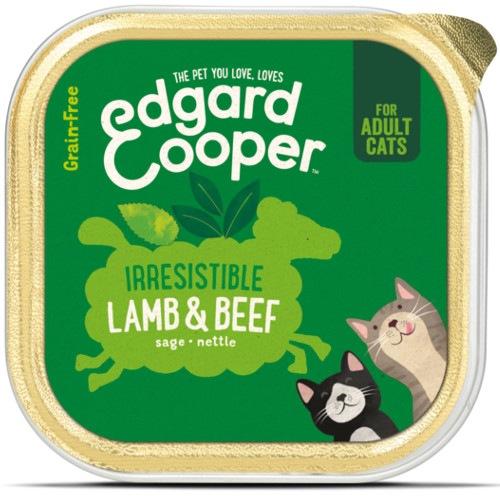 Terrina Edgard & Cooper Bovino e Cordeiro para gatos