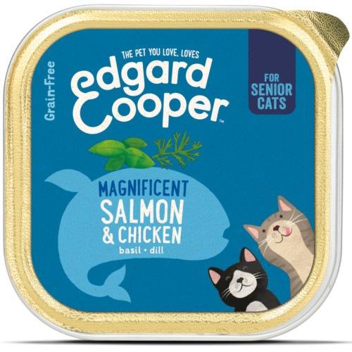 Terrina Edgard & Cooper Senior Frango e Salmão para gatos